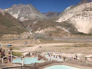 Tour Termas de Colina Cajon del Maipo Santiago Chile